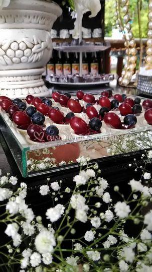 Caixeta de Frutas Vermelhas