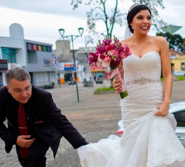 Cuidados com a noiva