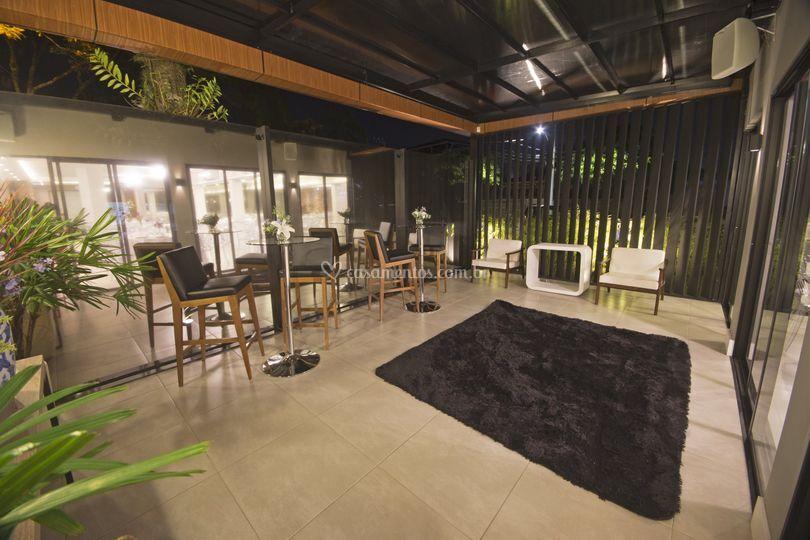 Lounge varanda coberta
