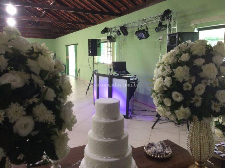 Casamento Jade e Wysllan