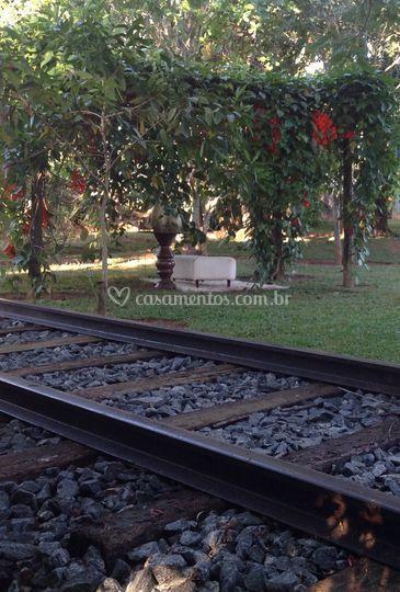 Simulação de estrada de ferro