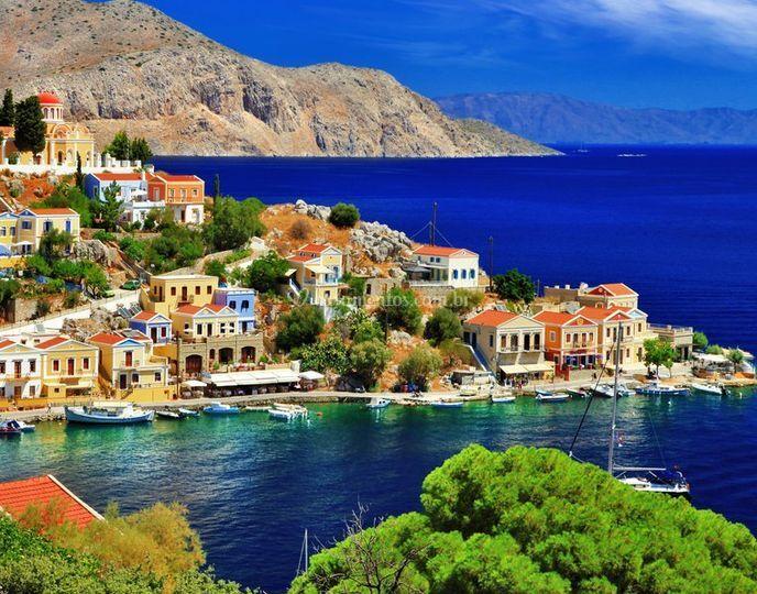 Lua de mel - Grécia