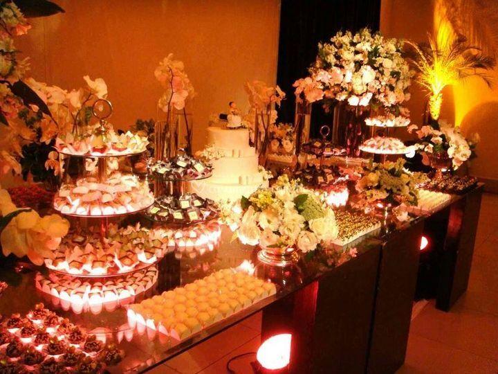 Mesas de doces bem