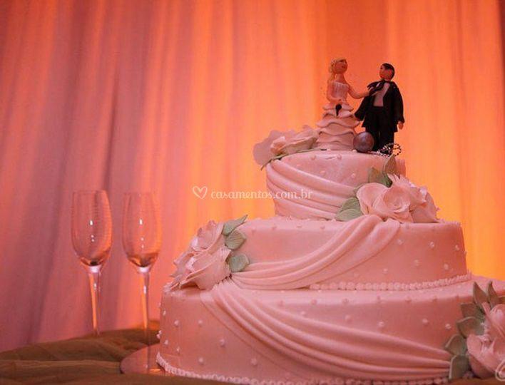 Noivos bonecos de casamento
