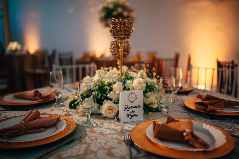 Mesa para noivos