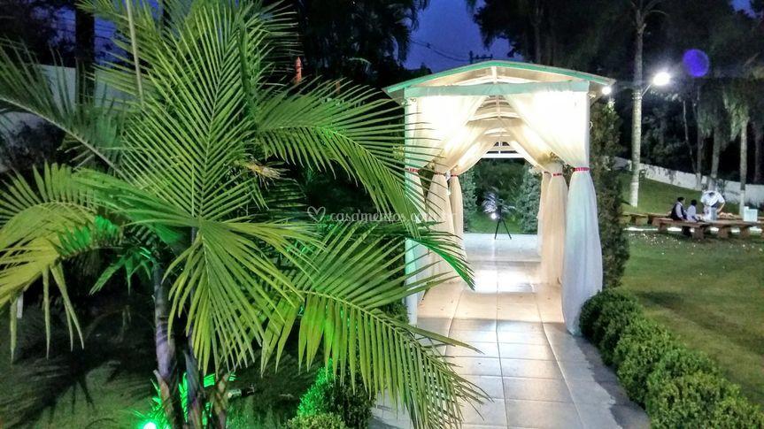 Corredor entrada da Noiva