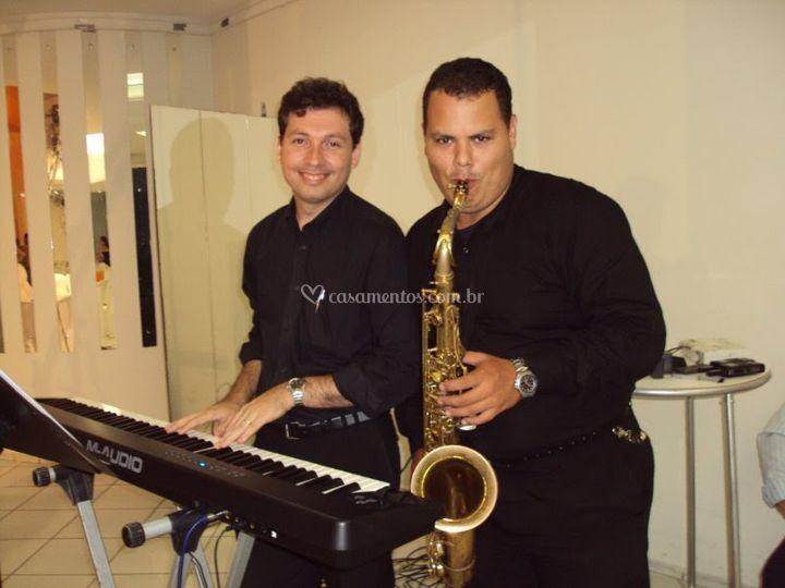 Dueto - Sax e teclado