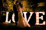 Casamento vintage à noite
