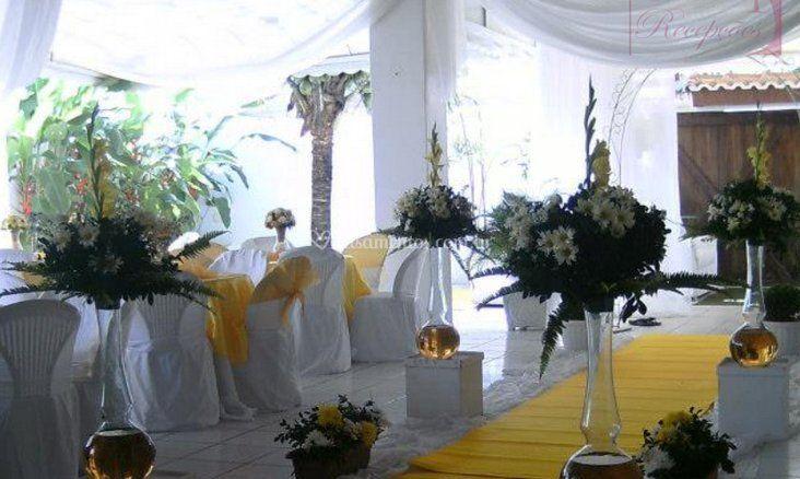 Decoração para cerimônias