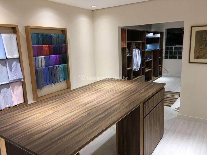 Sala - escolha de tecidos