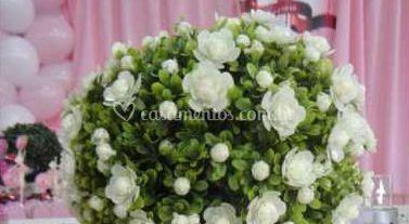 Arranjos florais de M�o de Fada Buffet