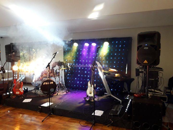 Mini palco (Vila Del Rey)