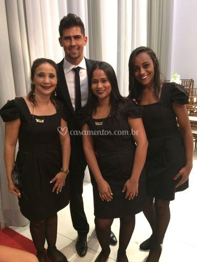 Leandro almeida e equipe