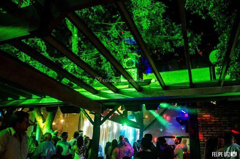 Salão principal - festa