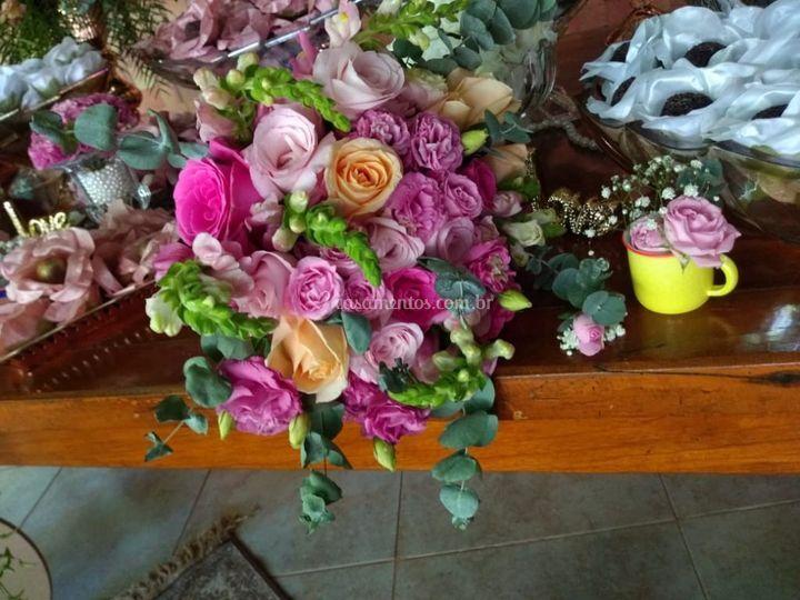 Bouquet descontruído