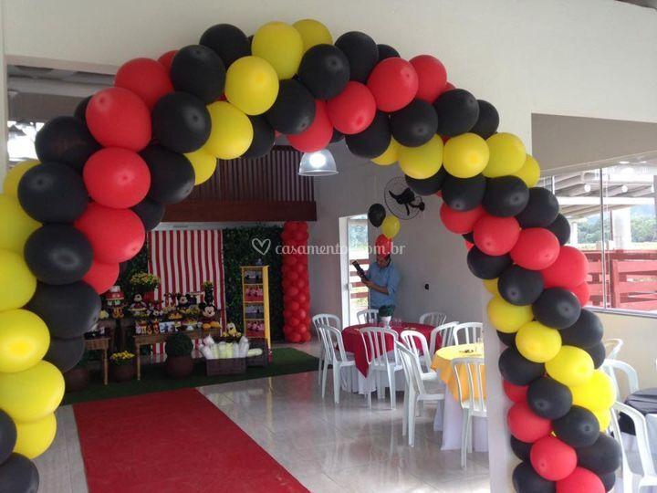 Festa infantil 150 pessoas