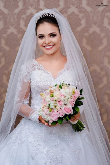 Produção noiva de Érica Damas Noivas  dcb9e2b68e16