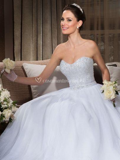 Terno noivo Vestido noiva princesa cac2a483e41f