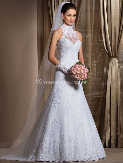Vestido noiva de Érica Damas Noivas  d6e79d188036