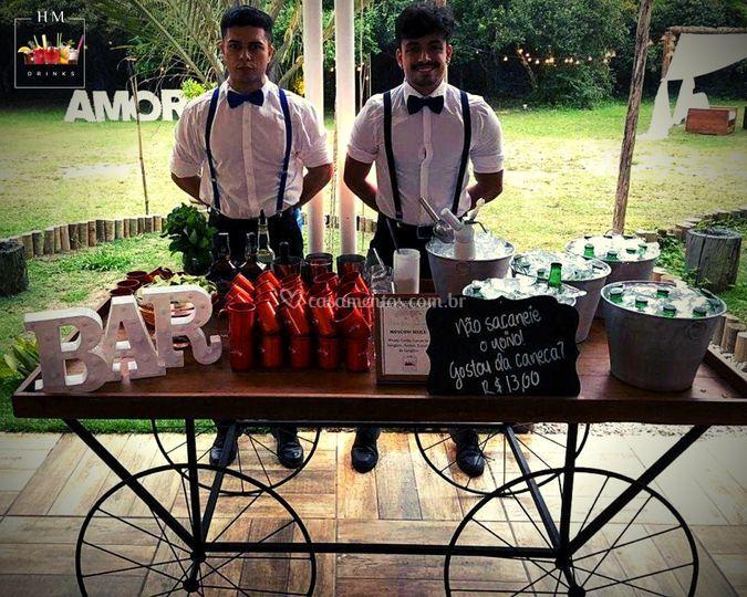 Milene e Juliano - HM Drinks