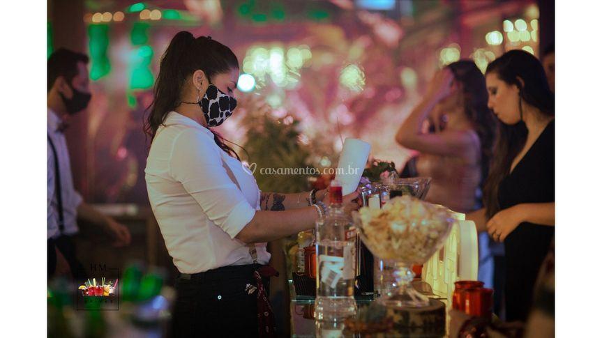 HM Drinks - Barwoman