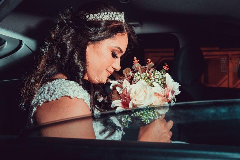 A grande chegada da noiva