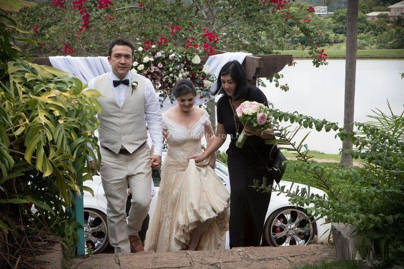 Casal Andréa e Adolfo
