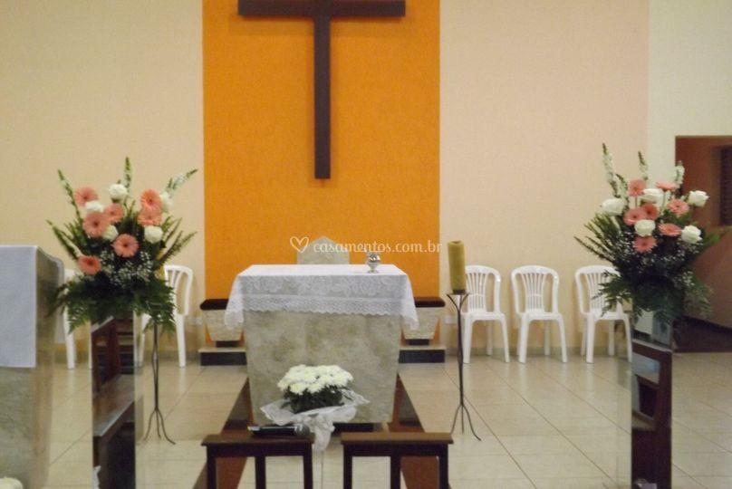 Decoração altar
