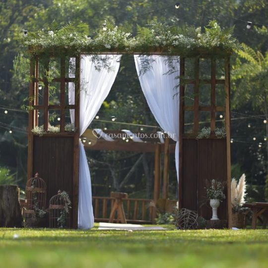 Portal da cerimônia