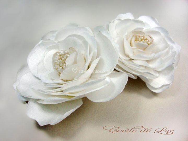 Grinalda de rosas