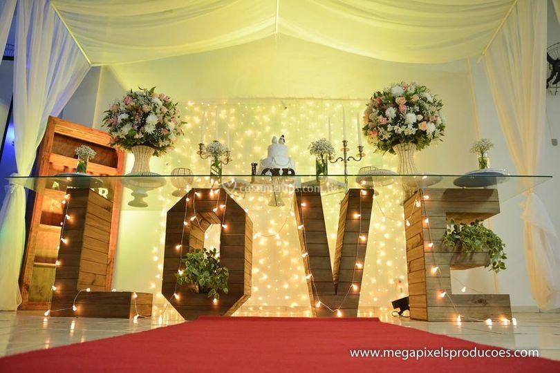 Mesa do love ( mesa principal)