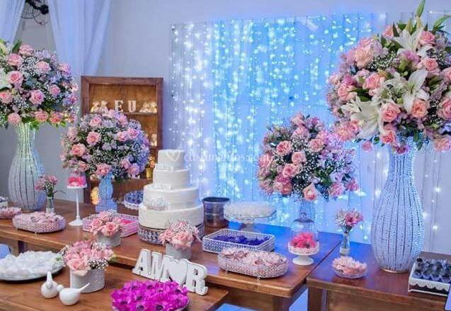 Mesa principal ( mesa do bolo)