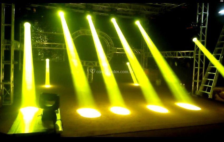 Iluminação Palco