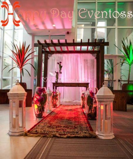 Altar casamento