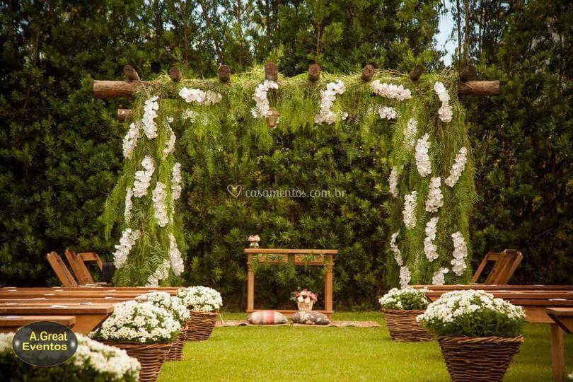 Decoração  casamento Maringá