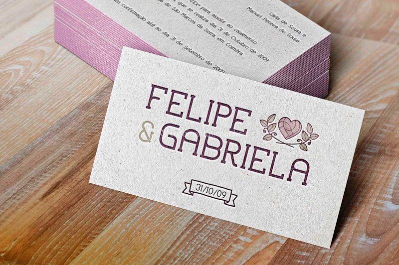 Felipe&Gabriela - Marca