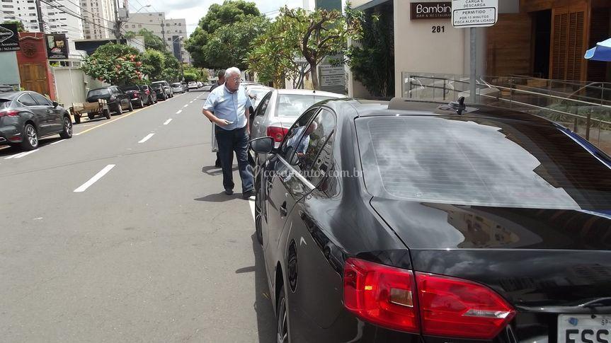 Estacionamento do seu veículo