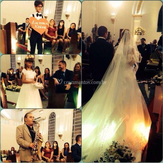 Casamento de Robinson e Renata