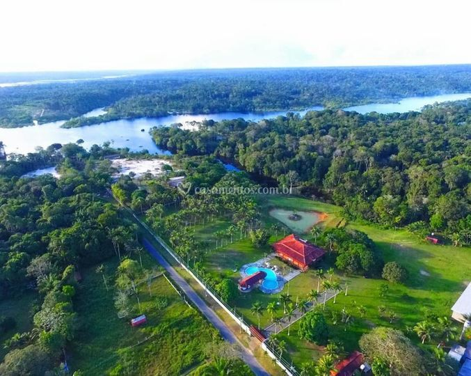 Drone On na Amazônia
