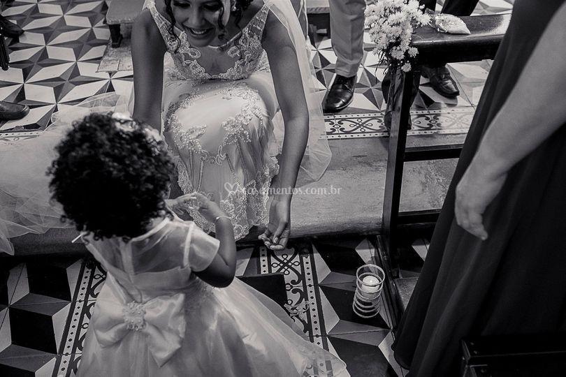 Cerimônia de Maycon e Nathalia