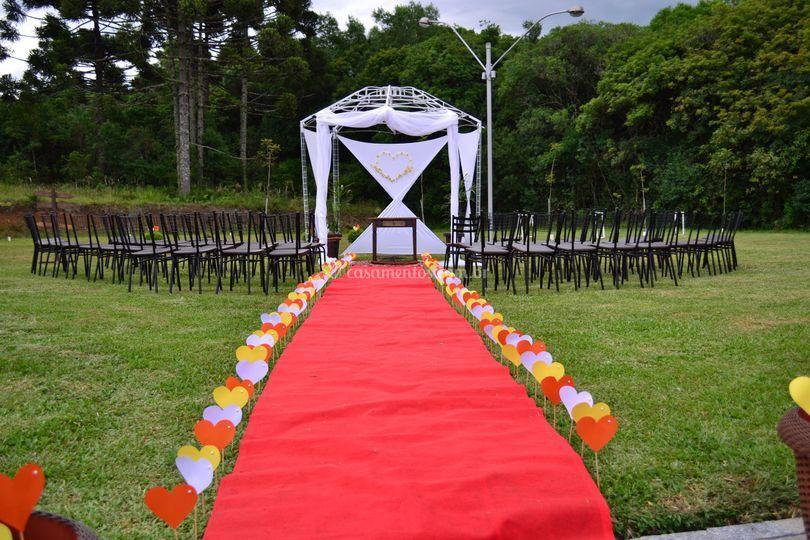 Local para a cerimônia