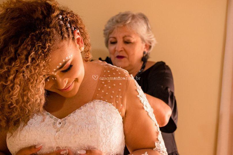 Making off noiva