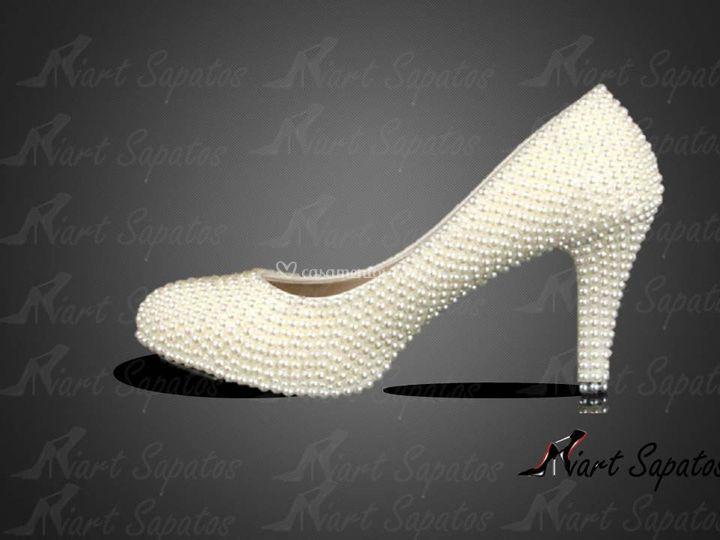Sapato com perola