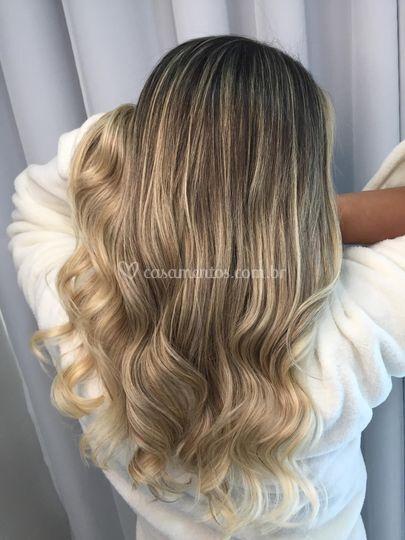 Blond iluminado