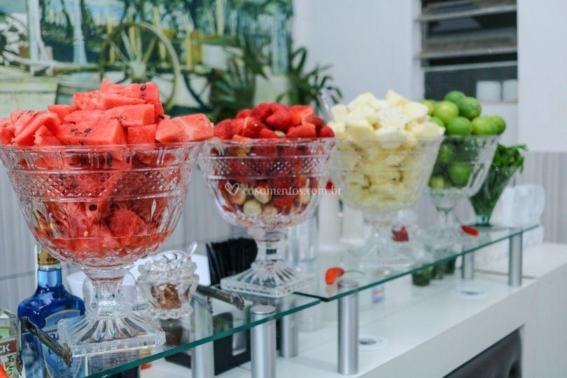 Frutas selecionadas