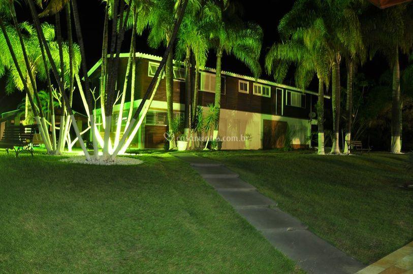 Iluminação eventos noturnos