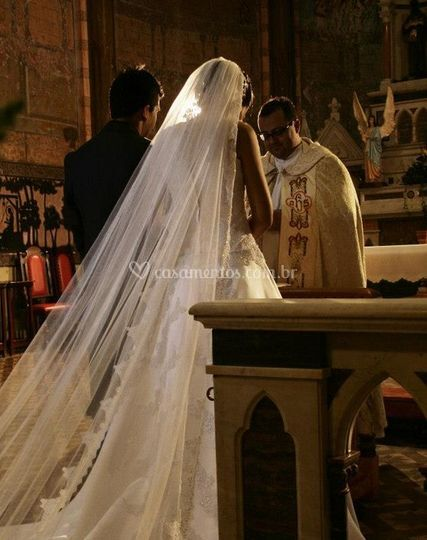 Um casamento lindo