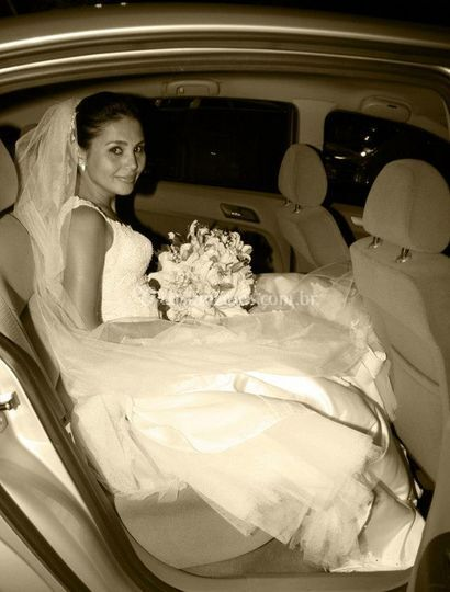 Noiva na limusine