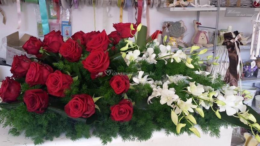 Arranjos Rosas