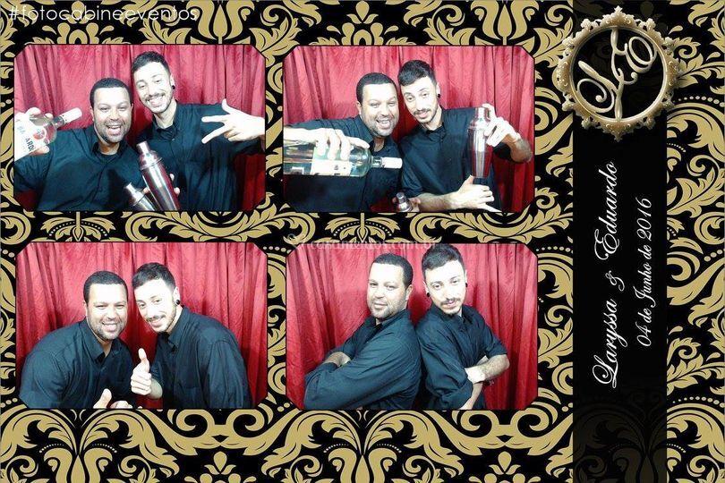 Foto cabine casamento Araruama
